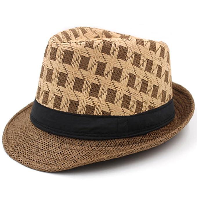 sombrero de la primavera y el verano de los hombres de mediana edad  Sombreros de f1b19b569a9