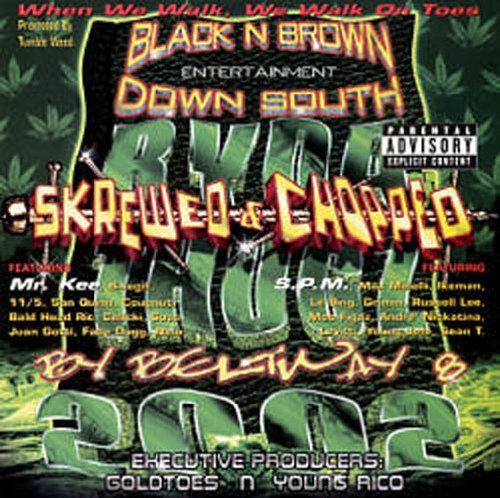 Ryda Thugz 2002: Skrewed & Chopped { Various Artists } (Lil P N compare prices)