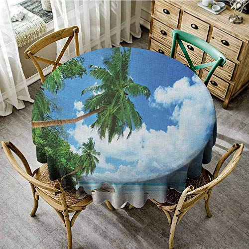 - round tablecloth with umbrella hole 47