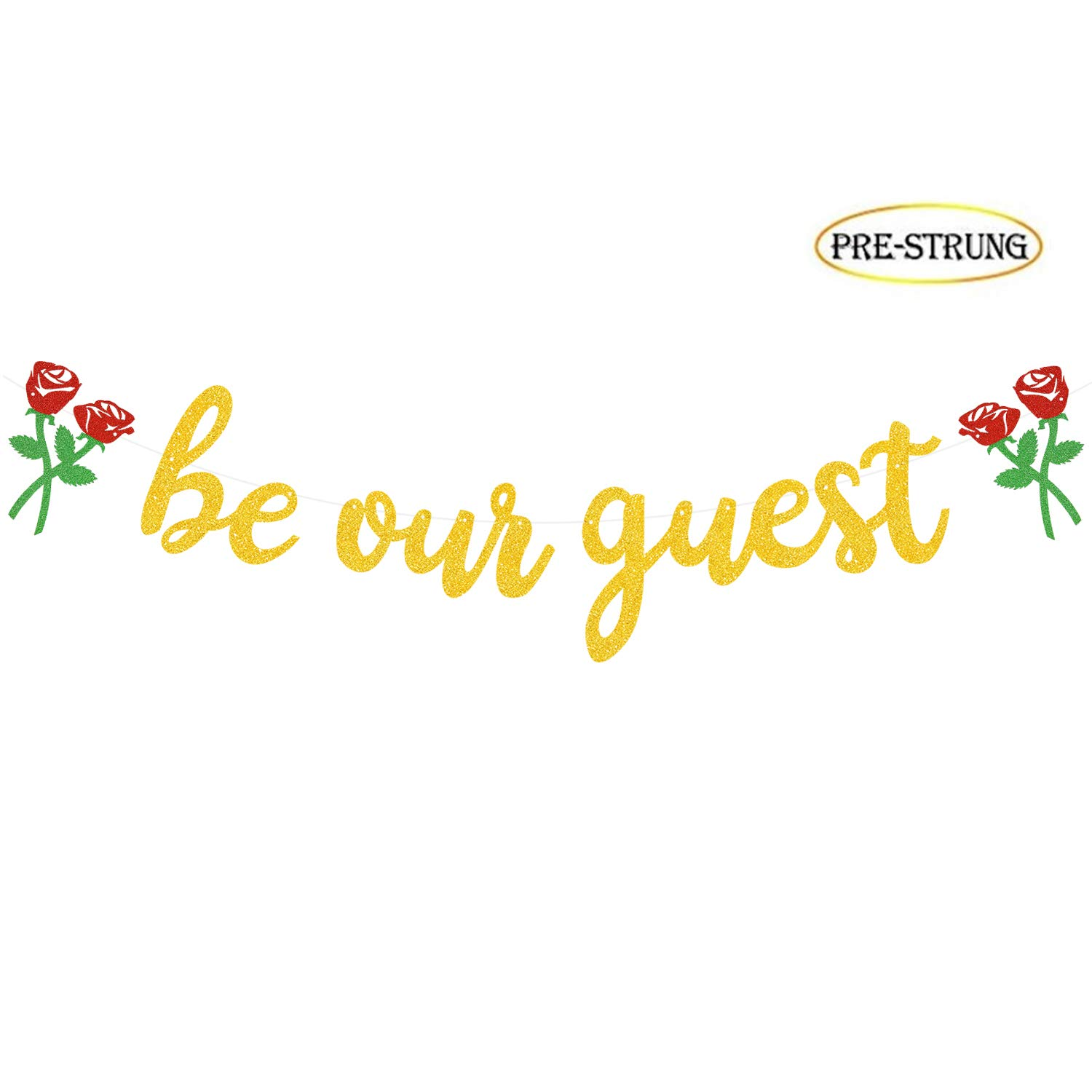 image regarding Be Our Guest Printable identified as Be Our Visitor Banner, Reception Banner Bachelorete Bash Engagement Social gathering Decorations