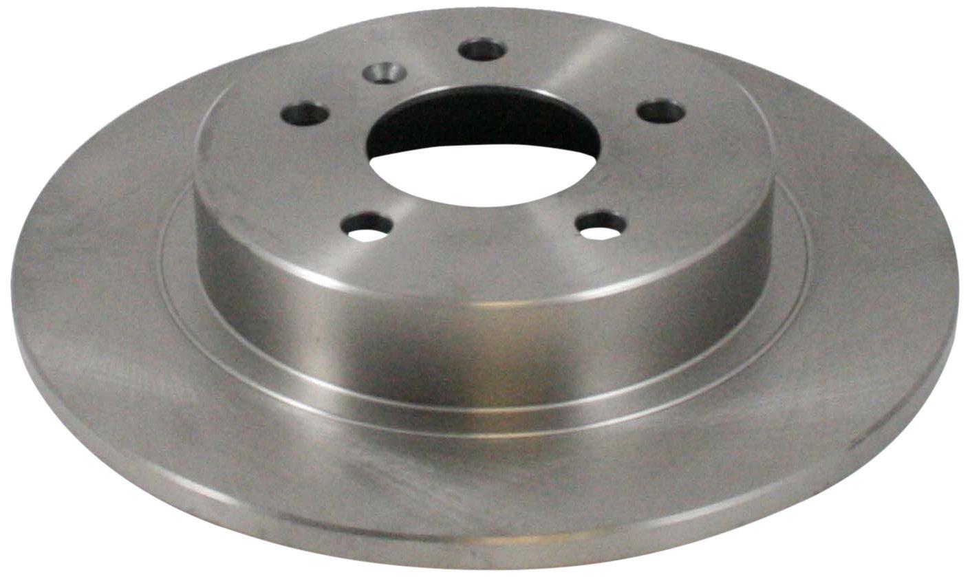 DuraGo BR90027602 Rear Solid Disc Premium Electrophoretic Brake Rotor