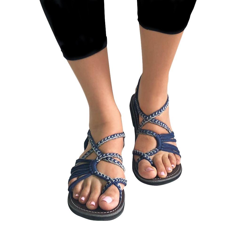 True Color Flat Sandals for Women