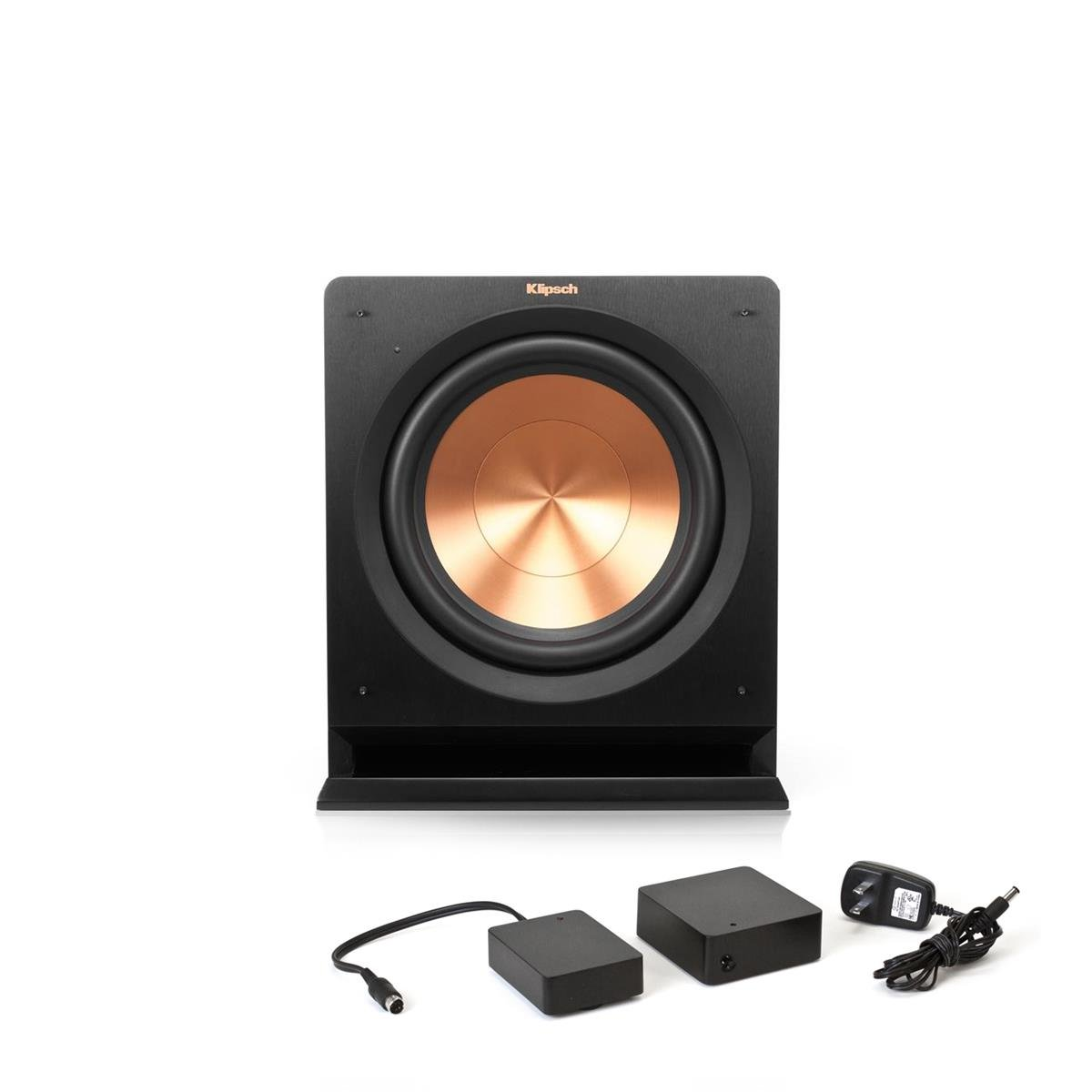 Klipsch R-112SW 12'' Powered Subwoofer with FREE WA-2 Wireless Subwoofer Kit.