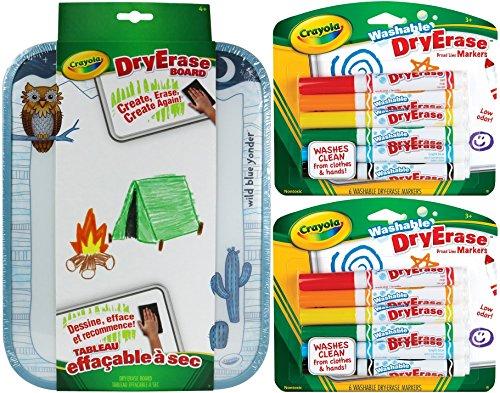 Crayola Dry Erase Bundle Washable