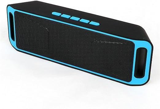 Veemoo Altavoz Estéreo Bluetooth Portátil Altavoces Con Micrófono ...