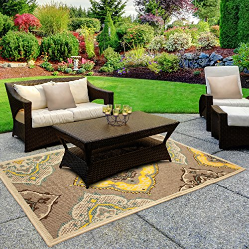 (Laura Ashley Allie 2 x 3' Indoor/Outdoor Rug)