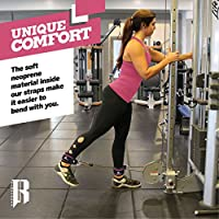 Ankle Straps For Cable Machines By RIMSports - Best Ankle Cuff For Leg Workout Equipment - Cuffs For Leg Exercise And Workout Machine -Ideal Ankle Cable Straps Men And Women -Single & Double Available