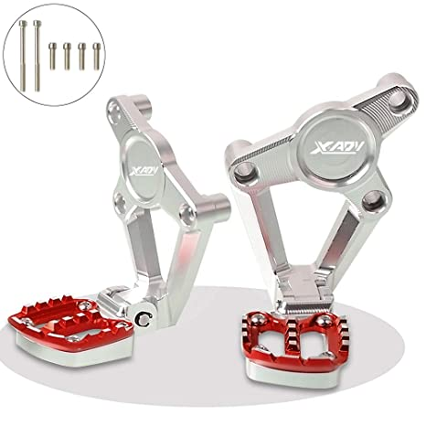 X-ADV Moto Components Plataforma Reposapiés Estriberas para Honda XADV X ADV X-ADV