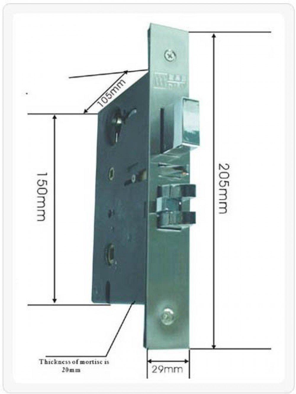 Serrure /à Carte RFID bt75-droite