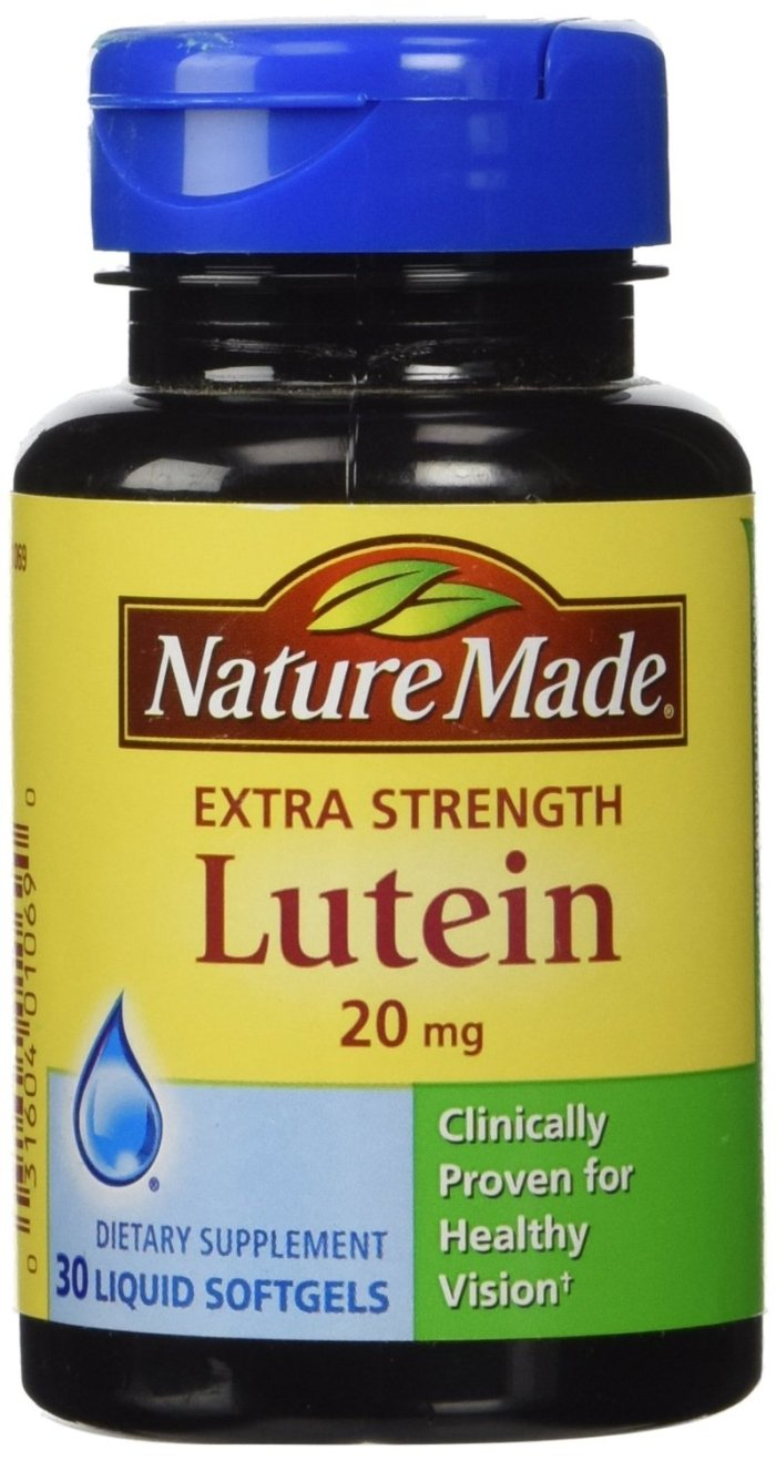Nature Made Extra Strength Lutein 20 mg Softgels 30 ea (Pack of 12)