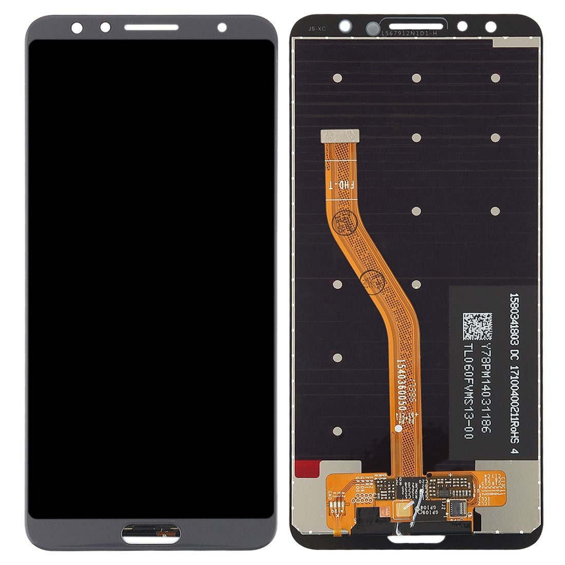 iPartsBuy Huawei nova 2s LCD Screen + Touch Screen Digitizer Assembly (Grey)