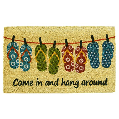 Home-More-121831729-Flip-flop-Fun-Doormat-17-x-29-x-060-Multicolor