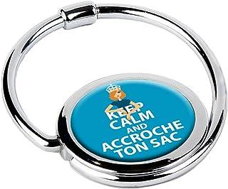 MISS KHA - Accroche-Sac Pliable Keep Calm