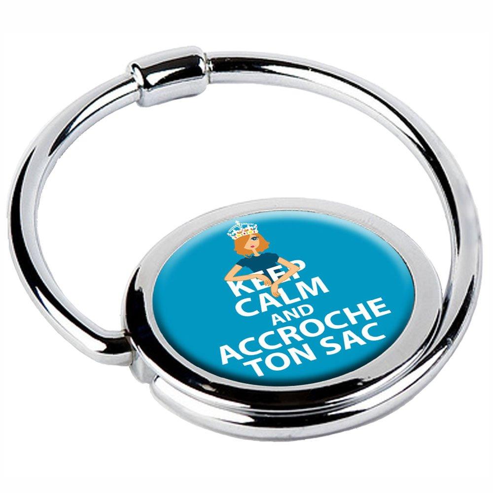 Miss Kha - Accroche-Sac Pliable Keep Calm KC