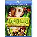 Arthur and the Invisibles 2 & 3: The New Minimoy Adventures Blu-ray