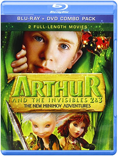 Blu-ray : Arthur and The Invisibles 2 and 3: New Minimoy Adventure (Blu-ray)
