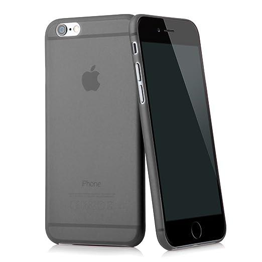 """10 opinioni per Ultra Slim case in nero per Apple iPhone 6 (4,7"""") skin cover bumper transparente"""