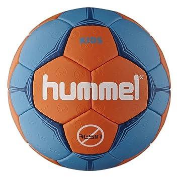 Hummel Balón de balonmano para niños, color - azul y naranja ...