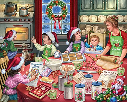Vermont Christmas Company Gingerbread Party Jigsaw Puzzle 1000 Piece by Vermont Christmas Company