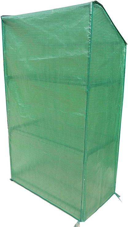Invernadero, lona, jardín tente, dimensiones: 90 x 49 x 150, peso: 6 kg, tubos metálicos, 16 mm de diámetro, minoración 135 G/m².: Amazon.es: Jardín