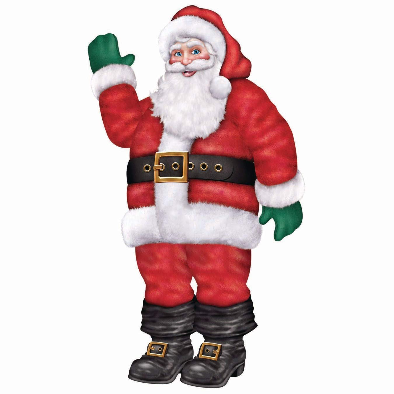 Jointed Santa Party Accessory (1 count) (1/Pkg) by Beistle