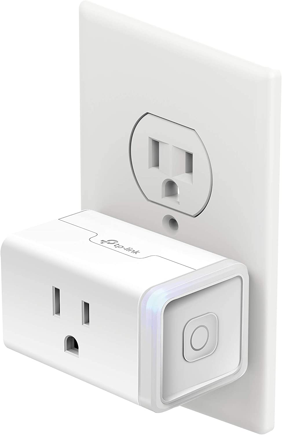 Kasa Smart Plug Mini with Energy Monitoring, Smart Home Wi-Fi Outlet Works with Alexa, Google Home &IFTTT, Wi-Fi Simple Setup, No Hub Required (KP115) , White