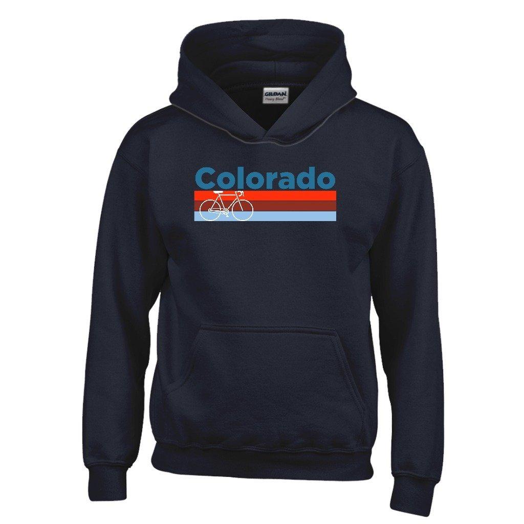 Tenn Street Goods Retro Bike /& Mountain Bike Youth Hoodie Colorado Kids Sweatshirt
