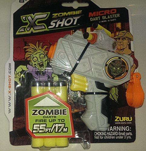 Zuru X Shot Zombie Edition Micro Dart Blaster Gun