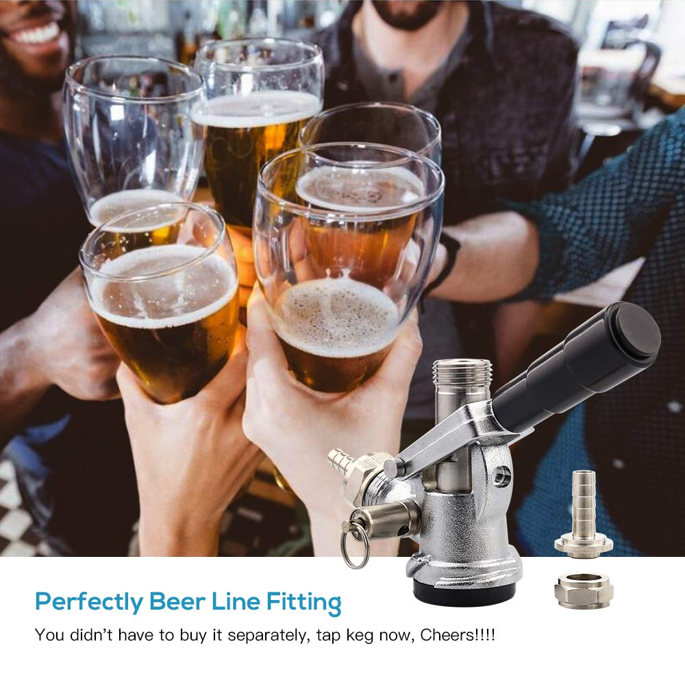 MRbrew Beer Keg Coupler US Sankey D System Tap with Stainless Steel Probe by MRbrew (Image #4)