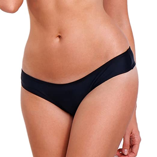 070b2e8c8c Amazon.com: 2017 NEW Womens Swimwear Sexy Sweet Heart Brazilian Bikini  Bottom Hipster Swimsuit Beachwear Swimwear, Black, Small: Clothing