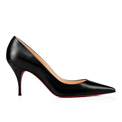 new style 85fd9 b8fc2 Amazon.com | Christian Louboutin Women's 3190531BK01 Black ...