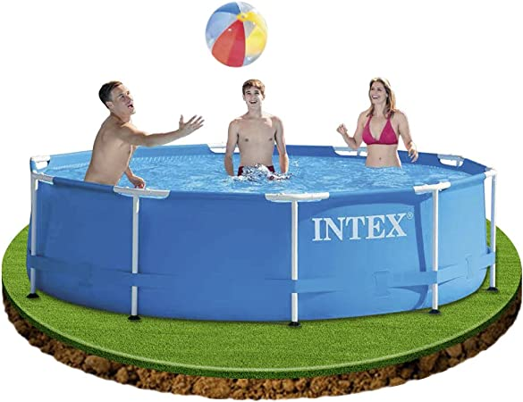INTEX 28200NP Piscina elevada Metal Frame, 4485 litros, 305x76 cm
