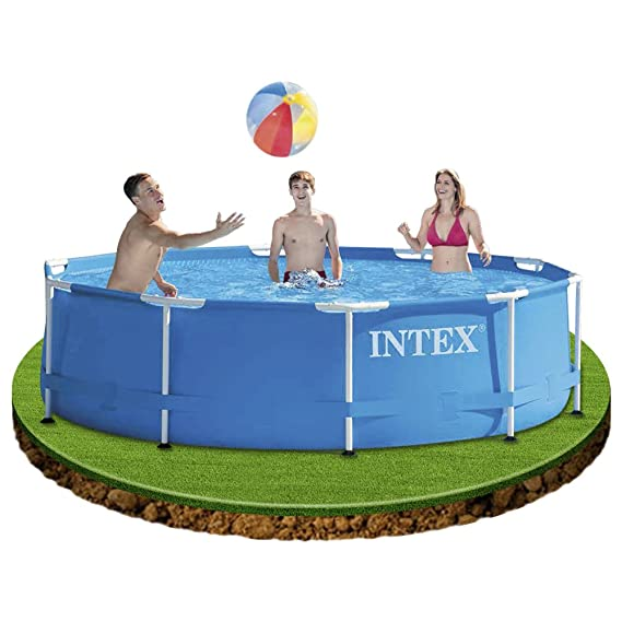 Intex Metal Frame - Piscina desmontable, 305 x 76 cm, 4.485 l: Amazon.es: Jardín