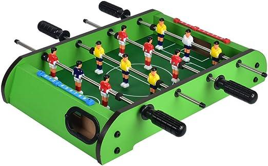 SYCHONG 4-Bar Futbolín Máquina, Mini Sobremesa Juego De Billar ...