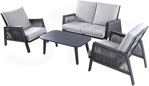 Conjunto Aluminio de Primera Calidad y Cuerda sintética Mancor: Amazon.es: Jardín