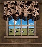 HiEnd Accents Caldwell Western Valance