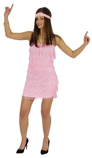 20er kleid rosa
