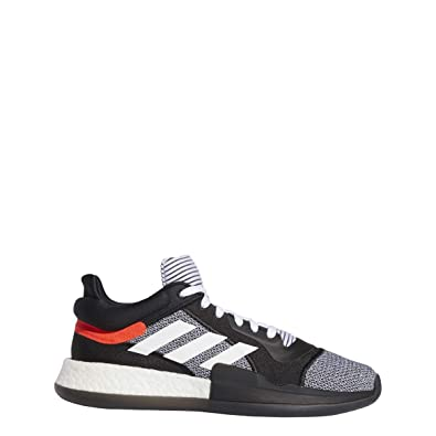 huge selection of 90626 5d876 adidas Marquee Boost Low Shoe - Men s Basketball Core Black White Solar Red