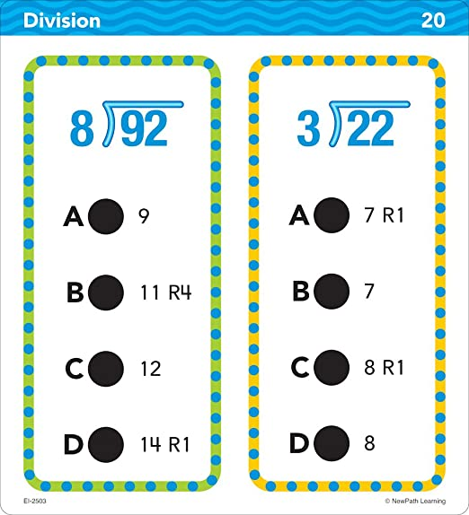 Amazon.com: Educational Insights Hot Dots Math Standards-Based ...