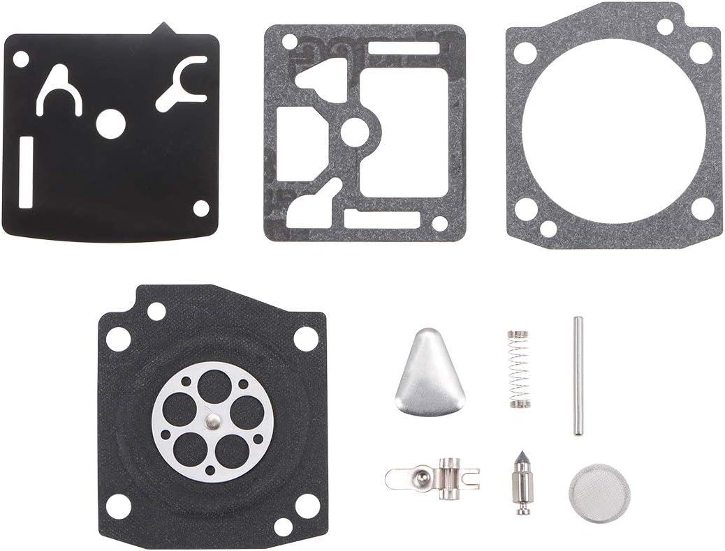 uxcell RB-73 Carburetor Rebuild Kit Gasket Diaphragm for RB-73 Carburetor Engines Carb 2pcs