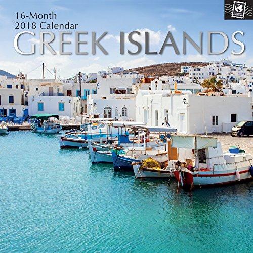 2018 Greek Islands Calendar Stickers product image