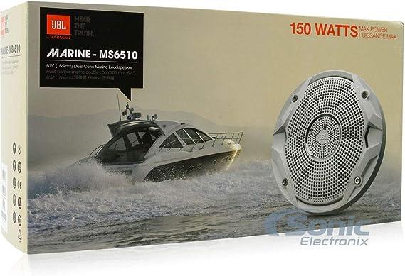 Jbl Ms6510 150w 6 5 Dual Cone Marine Speakers Elektronik