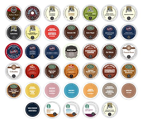 Variety Selection Coffees Brewers Compatible