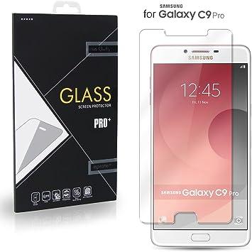 Samsung Galaxy C9 Pro Cristal Protector de pantalla, eProte® ultra delgado Vidrio Templado para Samsung C9 Pro Duos, 6.0 pulgadas: Amazon.es: Electrónica