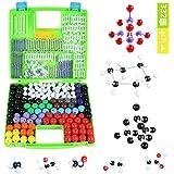 Magic House 分子構造模型 分子モデルセット 有機無機化学 化学分子 化学元素 教学用 学生用 実験用 ケース付属(332個セット) J3111 アップグレード版