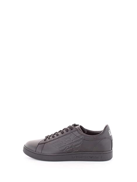 869ba3800b Emporio Armani EA7 X8X001-XCC51 Sneakers Unisex Nero 5: Amazon.it ...