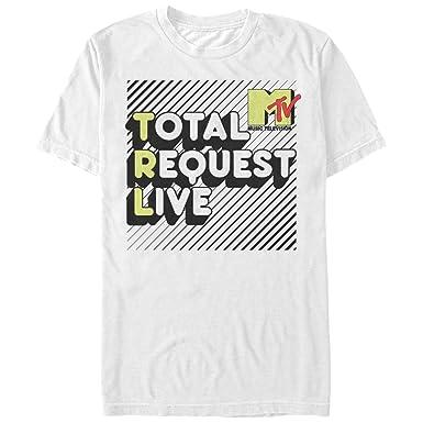 dcd652d2254a Amazon.com: MTV Total Request Live - Adult T-Shirt: Clothing