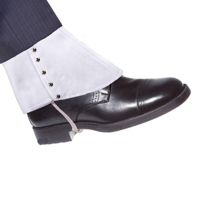 ZeroShop 1920s Mens Gangster Straw Hat,Gangster Spats,Armbands,Y-Back Elastic Suspenders /& Pre Tied Bow Tie