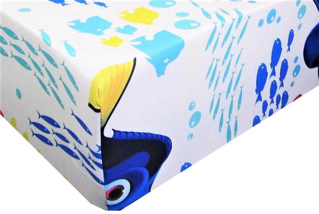 Finding DORY (FITTED SHEET ONLY) Size TWIN Boys Girls Kids Bedding