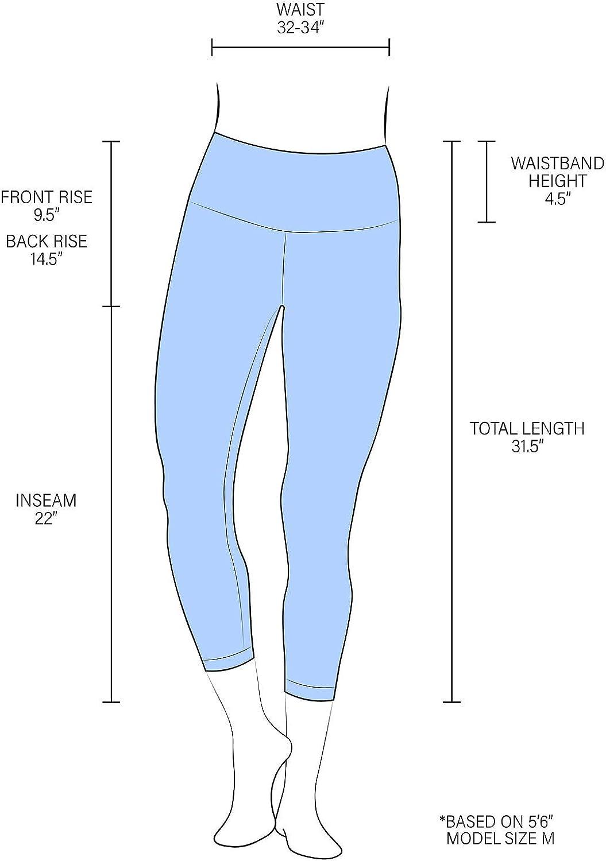 90 Degree By Reflex – High Waist Tummy Control Shapewear – Power Flex Capri: Clothing